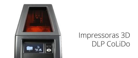 impressoras 3d dlp