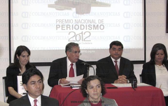 Premio Nacional de Periodismo 2012 3