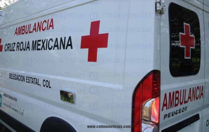 ambulancia Cruz Roja Colima