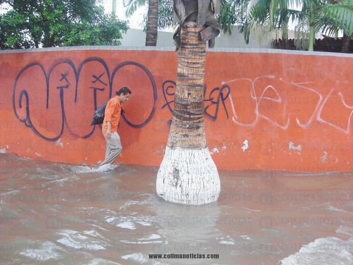 lluvias encharcamiento nivel