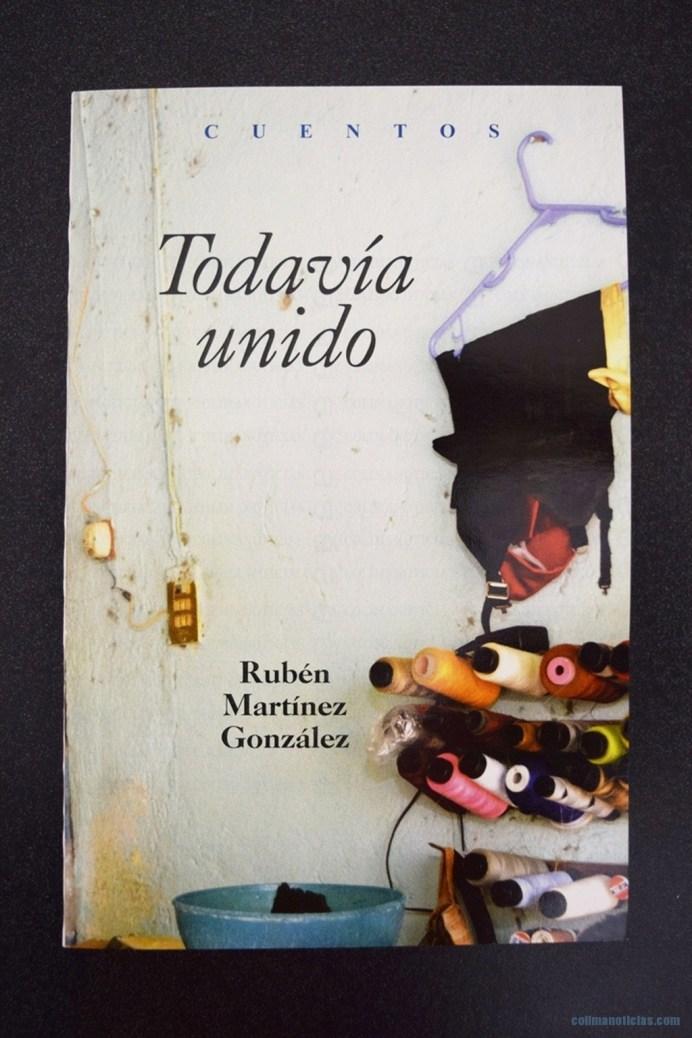 Rubén Martínez presentará libro de cuentos este miércoles en el Centro Cultural Mexiac