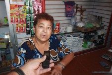 Juana Chavira, dueña tienda de abarrotes