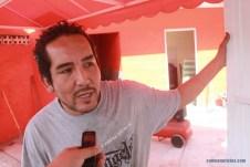 Luis Arturo García, es propietario de un taller de transmisiones automáticas