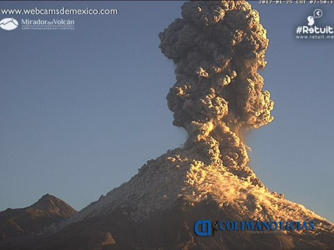 explosion colima volcan