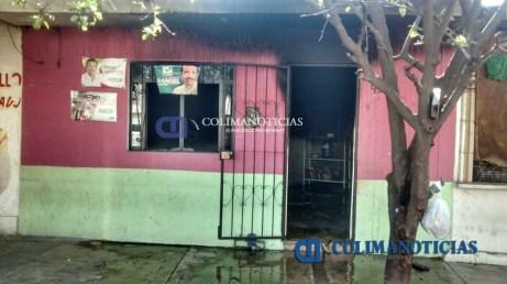 incendio en una vivienda del El Zalatón 2