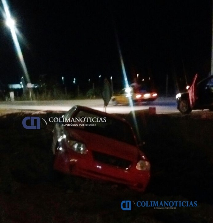 Se registra accidente sobre la Av. Elías Zamora