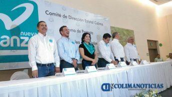 Toma protesta Javier Pinto como presidente de Nueva Alianza2