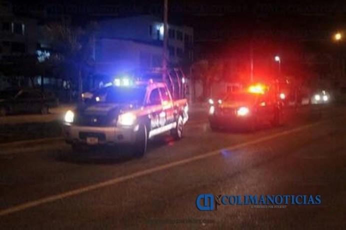 policías Manzanillo bulevard