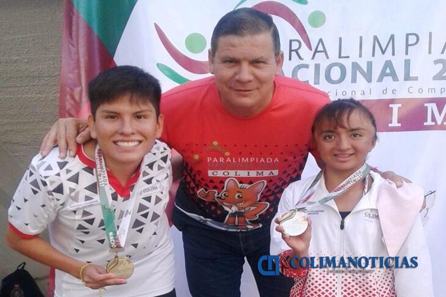 Con áureas, arrancan competencia los aguascalentenses en la Paralimpiada Nacional 2017