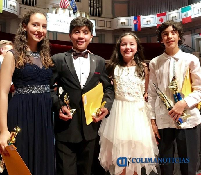 Exitoso Verano para alumnos del IUBA_alumnos premiados Carmel Klavier