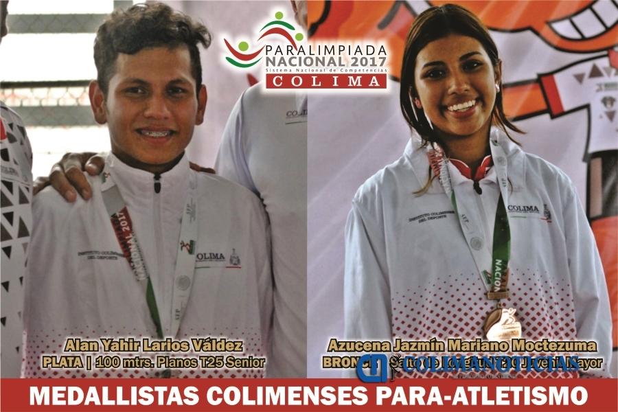 Bronce para Lorenzo Valles en paralimpiada nacional