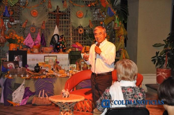 Concluye Festival de las Ánimas en el MUAP, Abraham Elías Ventura