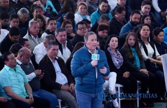 Comité de Panal Colima se reunió con José Antonio Meade