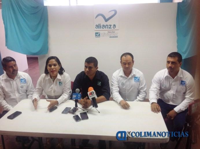 Héctor Álvarez nueva alianza
