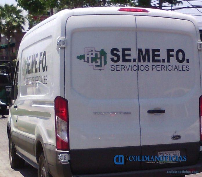 semefo EJECUCION 696x607 - En la comunidad de Cerro de Ortega ejecutan a un hombre con arma de fuego