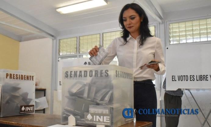 Mely Romero voto