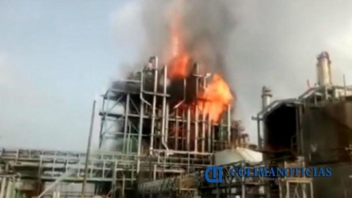 Reportan explosión en planta Petromex del corredor industrial de Altamira