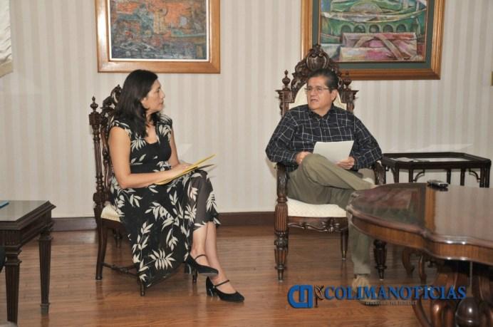 Visitan al rector Integrantes del Seminario de Cultura Mexicana_e