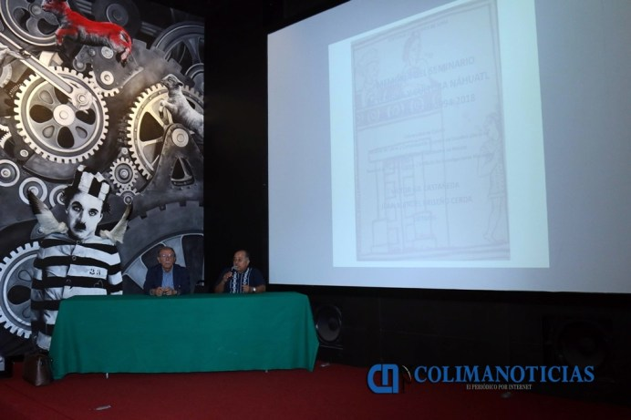 Presentación del libro sobre Seminario de Cultura Náhuatl_a