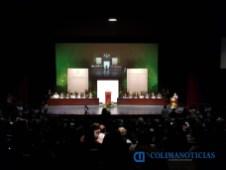 rector de la Universidad de Colima informe