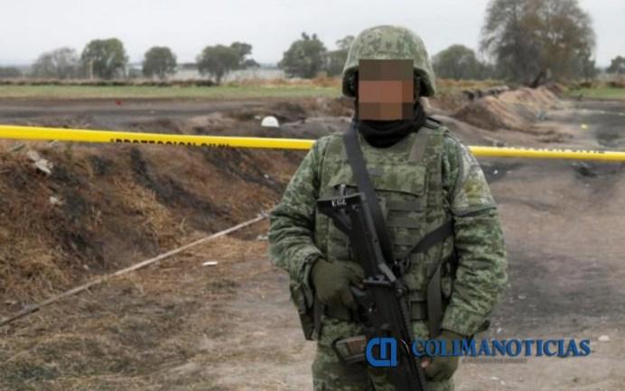 militar explosion pemex