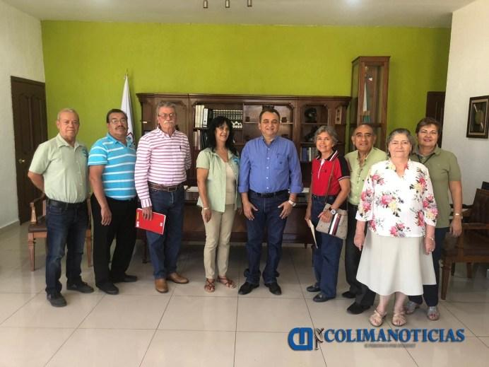 Felipe Cruz se coordinará con jubilados para mejorar sus condiciones de vida