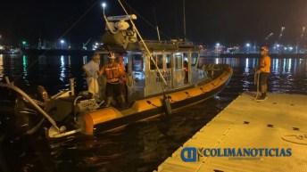 Marina – Armada de México efectuó evacuación de un tripulante que sufrió fractura (1)