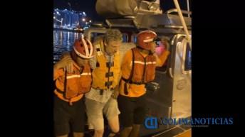 Marina – Armada de México efectuó evacuación de un tripulante que sufrió fractura (2)