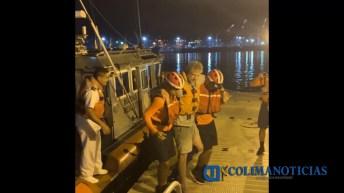 Marina – Armada de México efectuó evacuación de un tripulante que sufrió fractura (3)