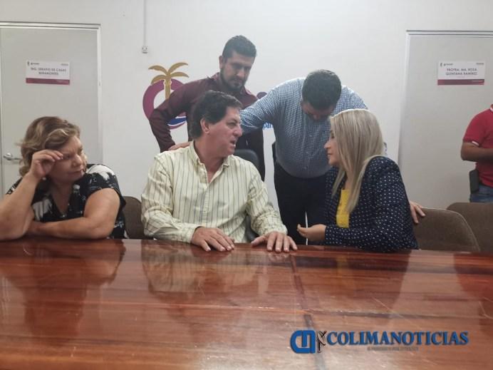 Liman asperezas alcalde Elías Lozano y regidores por el bien de Tecomán