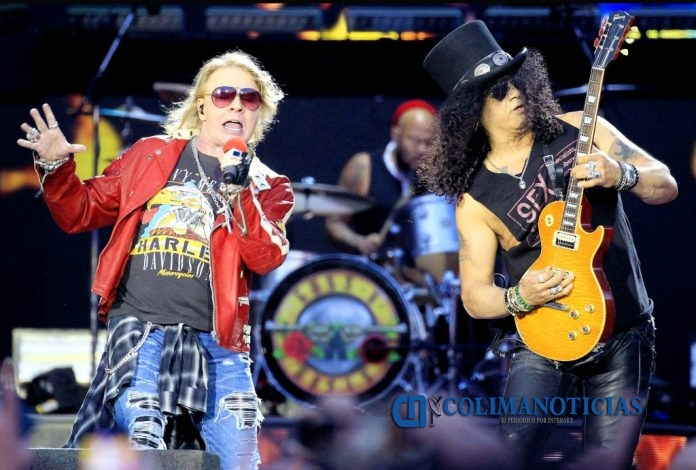 Guns and Roses 696x470 - Guns and Roses anuncia concierto en Guadalajara