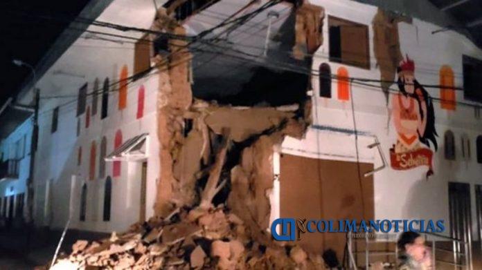 sismo Perú 696x391 - Fuerte sismo sacude el norte de Perú y se siente en Ecuador