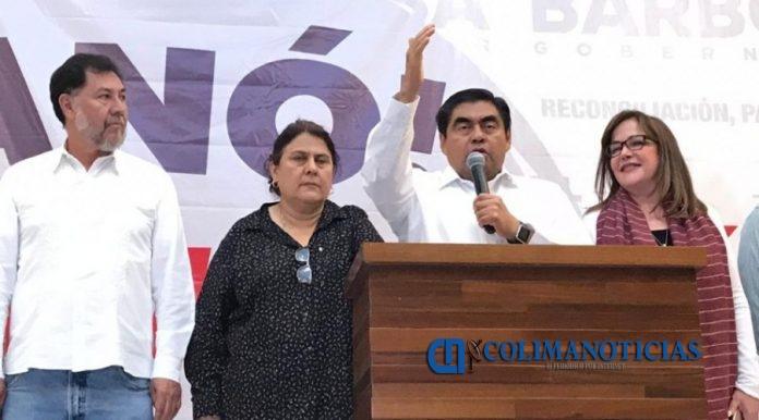 barbosa Morena 696x386 - Barbosa logra quedarse con la gubernatura de Puebla
