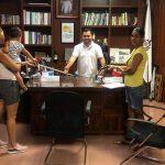 Salvador Bueno dona 50 bastones a personas vulnerables 150x150 - Salvador Bueno dona 50 bastones a personas vulnerables