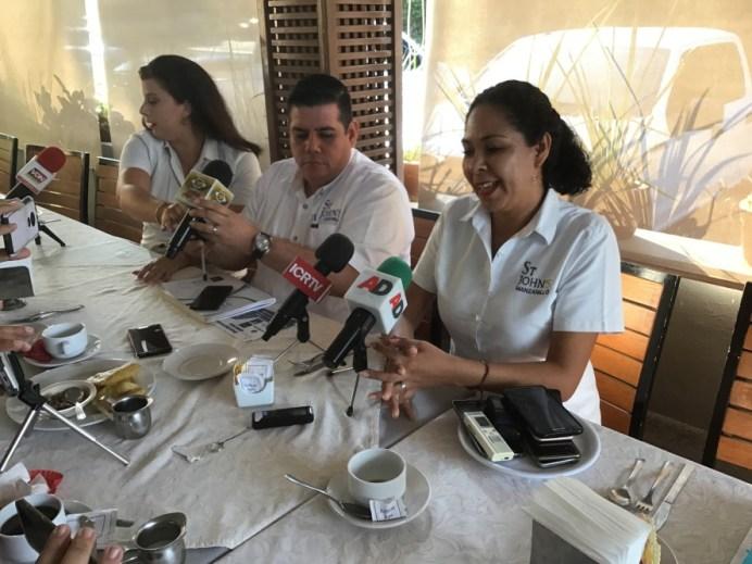 St John´s campus Manzanillo rieda de prensa