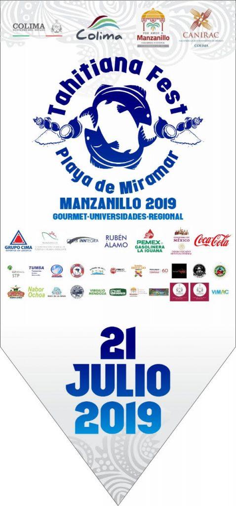 Tahitiana Fest 3 478x1024 - Alistan escenario para el 'Tahitiana Fest' en la playa de Miramar, en Manzanillo