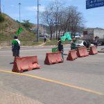 Campesinos bloquean entrada a la zona norte del puerto 3 150x150 - Campesinos bloquean entrada a la zona norte del puerto