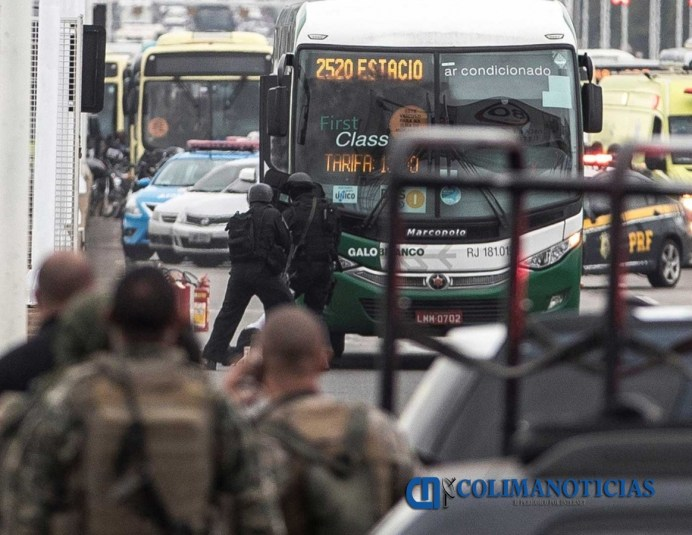 En Brasil, policía abate a secuestrador