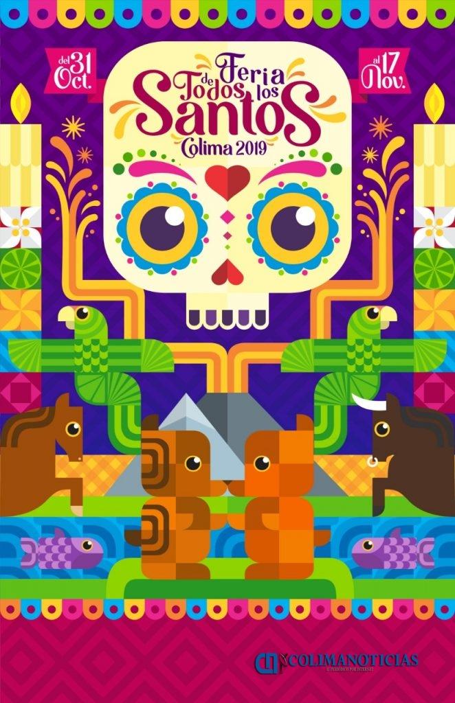 Iffecol 2 662x1024 - Anuncian a ganadora del cartel de la Feria de Todos los Santos 2019