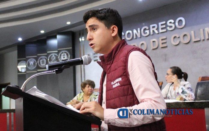 Vladimir Parra 696x437 - Propone Morena Plan General de Desarrollo Estatal