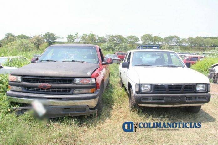 cateo recuperan carros 696x464 - En cateo, Fiscalía del Estado recupera dos vehículos robados