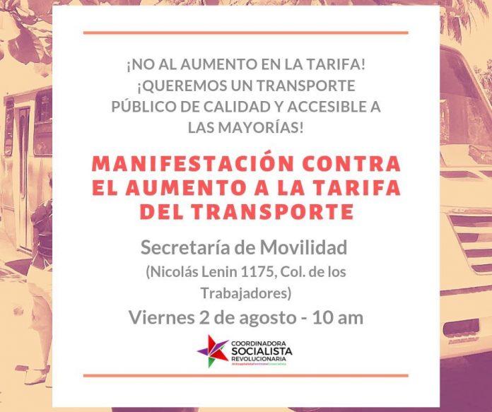 entregaran firmas movilidad 696x583 - Mañana entregan firmas y se manifestarán en Movilidad por aumento al transporte