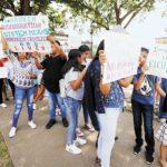 manifestacion por megarredadas 150x150 - Gobierno estadounidense defiende 'megarredadas' contra migrantes