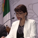 Claudia Yáñez Centeno 150x150 - Claudia Yáñez busca se destituya a Indira Vizcaíno como delegada de Programas para el Desarrollo