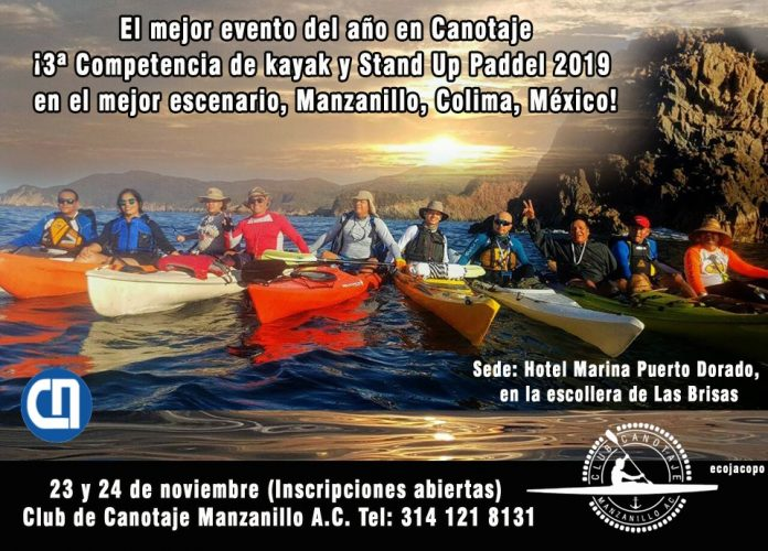 Competencia de Kayak y Stand Up Paddel Manzanillo 2019 696x500 - 3.ª Competencia de Kayak y Stand Up Paddel Manzanillo 2019