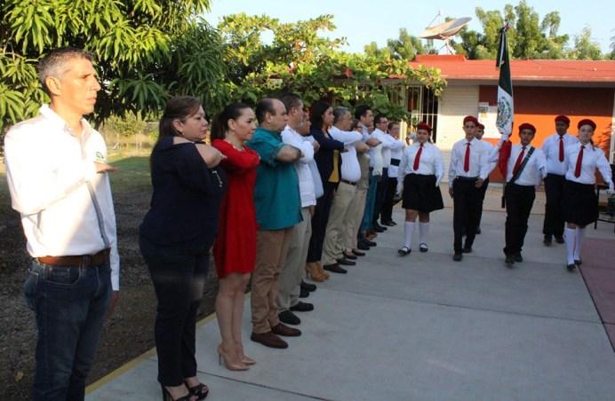 Ceremonia para conmemorar la Educación Especial en Colima