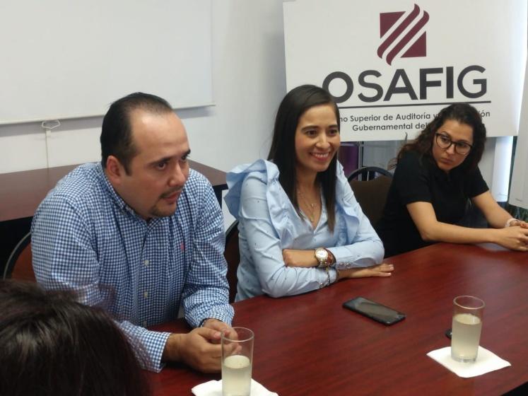 Osafig Infocol - Osafig recibe Constancia de Transparencia por parte del Infocol