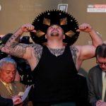 andy ruiz 1 150x150 - Andy Ruiz le pone el toque mexicano al pesaje