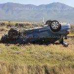 volcadura 150x150 - Abandonan vehículo tras volcadura en la Guadalajara-Colima