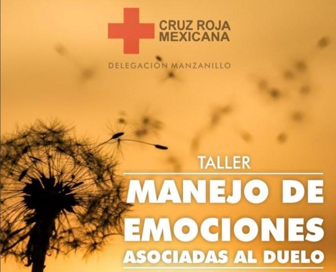 Cruz Roja ofrecerá taller de manejo de emociones asociadas al duelo
